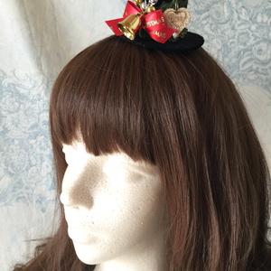 ミニハット(クリスマス・ハート)