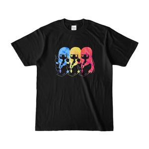 ふぁっきゅーTシャツ 黒