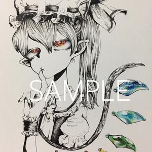 フランドール/原画ポストカード