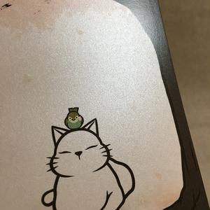 ポストカード 猫と桜