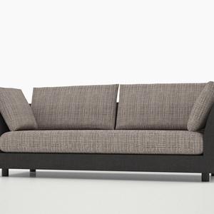 3D モデルデータ sofa015