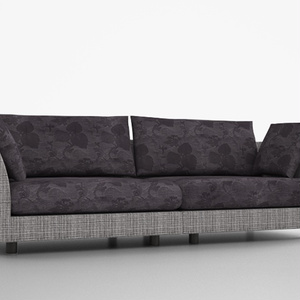 3D モデルデータ sofa016