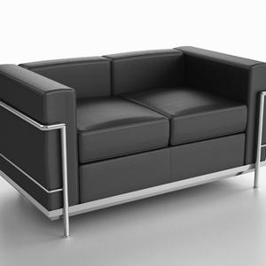 3D モデルデータ sofa017M