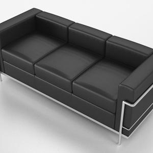 3D モデルデータ sofa017L