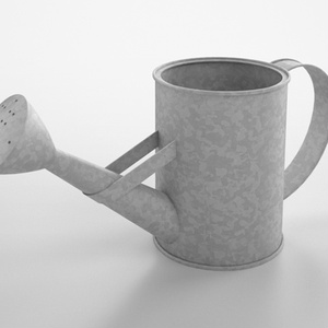 3D モデルデータ watering_can_free