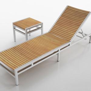 3D モデルデータ reclining_chair01