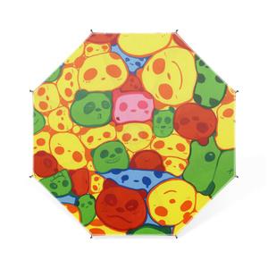マーブルパンダの卓上ミニ傘