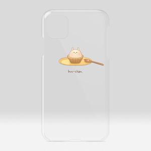 ぶーちゃんタルトのクリアケース iPhone