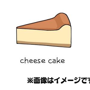 チーズケーキ ワンポイントTシャツ