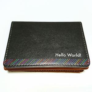 Hello World! 名刺入れ [Ver.2]