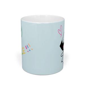 Everyday♡SMILE!マグカップ モノクロver.
