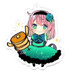 有梨とホットケーキ星人。緑ver.