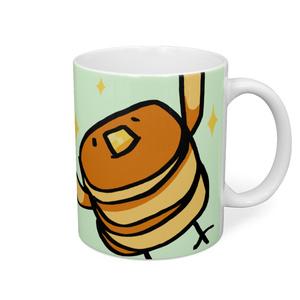 ホットケーキ星人。マグカップ!(サインなし)
