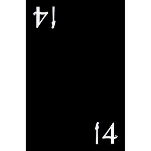 14【黒】名刺入れ