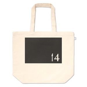 14【黒】トートバッグ