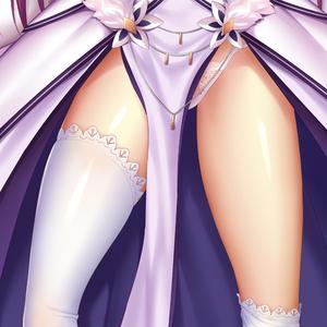 スカサハ ドレス&スカディ 抱き枕カバー 全年齢Ver. 年末年始キャンペーン色紙付き