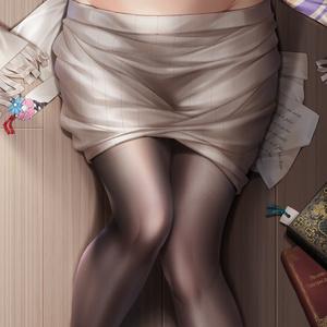鷺沢文香 抱き枕カバー 全年齢Ver. キャンペーン色紙付き