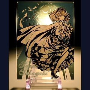 アクリルプレート - 神秘の女神 -