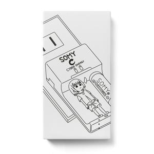みがちゃん充電中(モバイルバッテリー)