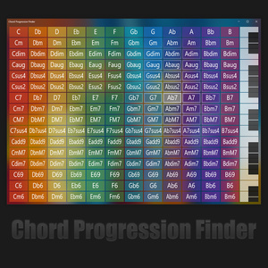 Chord Progression Finder
