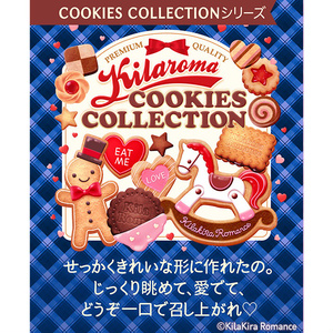 手帳型iPhoneケース[COOKIES COLLECTION No.01]