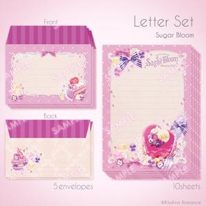 レターセット[Sugar Bloom]