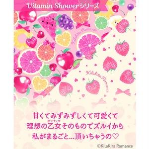 デザインペーパー[Vitamin Shower No.02](クリーム×いちご)