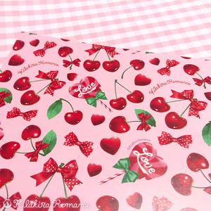 デザインペーパー[Dressy Cherry No.01] (ピンク)
