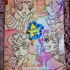 【イラスト集】funky×fancy【ナックル+シュート中心】