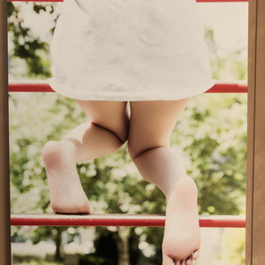 あのこの足裏写真展 展示パネル (三井瞳)