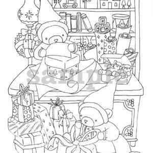 くまさんのクリスマスラッピング -Bear's Christmas Wrapping-