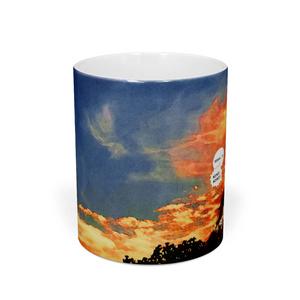 厲閣山マグカップ