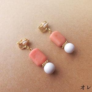 フルーツキャンディイヤリング(バリエーション有)