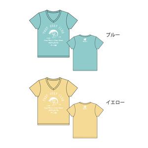 SURF CLUB Tシャツ(Vネック・全2色)