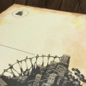 ポストカード「造りかけの帰路」
