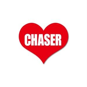 CHASER HEART RED STICKER - チェイサー ハート レッド ステッカー / TOYOTA 豊田 トヨタ JZX1 00 JZX90 1JZ JDM ドリフト