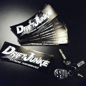 DRIFT JUNKIE STICKER - ドリフトジャンキー ステッカー / JDM  スタンス