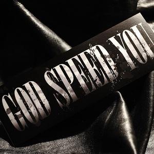 GOD SPEED YOU STICKER - ゴッドスピードユー ステッカー / 旧車 カスタム