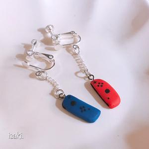 遊びざかりなイヤリング(ピアス)【送料、梱包代込み価格】