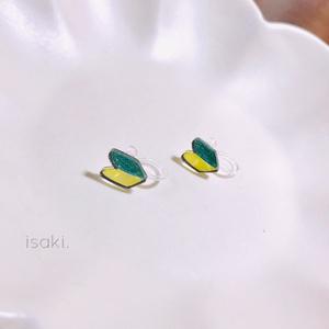 黄色と緑のマーク【送料、梱包代込み価格】