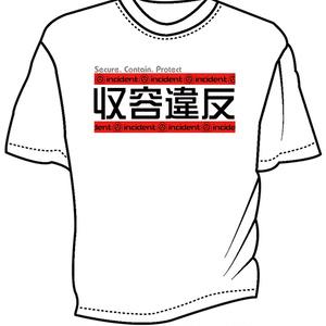 収容違反 ドライメッシュTシャツ