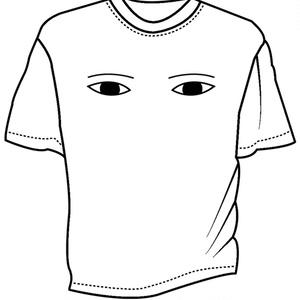 メジェド様ドライメッシュTシャツ