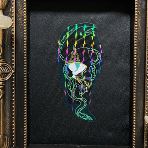 棺フロイド ホログラムステッカー