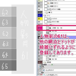 プロ仕様コミスタ用原稿テンプレートver4.0
