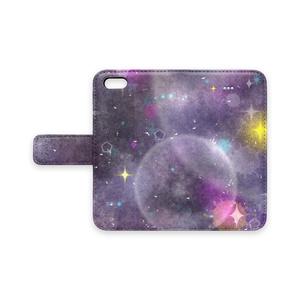 宇宙柄iPhoneケース