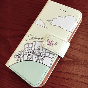 にこりんぱなの放課後iphoneケース