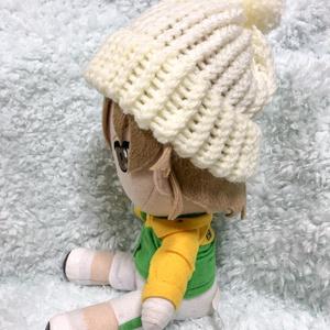ぬいぐるみ用 ニット帽(大)