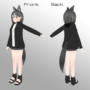 オリジナル3Dモデル『Lia』
