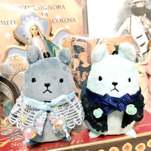 パペちゃん 指人形用 お洋服(ポンチョ) 人魚姫イメージ