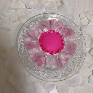 ブルーミーングお花が満開ロゼット